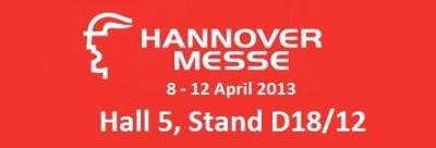 Hannover Messe 2013 Sanayi Fuarına katılıyoruz..