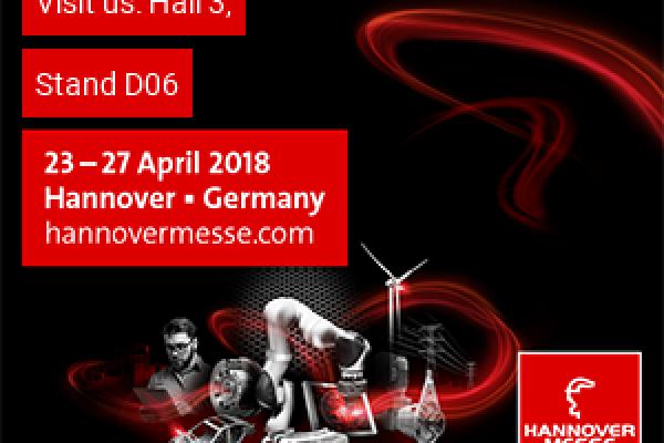 We are attending Hannover Messe 2018 Industry Fair..